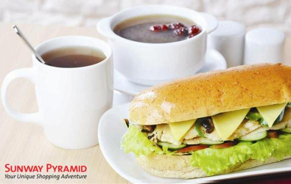 Nourish Up - Combo Chicken Sandwich