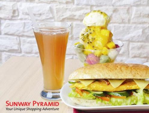 "6"" Farm Egg Sandwich + The Best of Times Dessert + Fortune Delight Beverage"